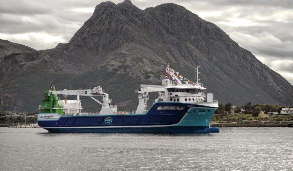 MS Høydal i Myrevågen